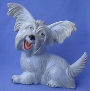 Rosenthal 9 Papillon Skye Silky Terrier Briard Dog Germany 1930s