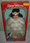 9373 Vintage Lucky Bell Filmation Snow White In The Land Of Doom Wedding Doll