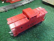 Marx Post War 4427 A.t. And S.f. Caboose 1950's Exc Orig Condition