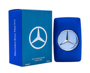 Mercedes Benz Blue By Mercedes Benz 3.4 Oz Edt Cologne For Men New In Box