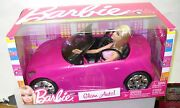 2406 Nrfb Mattel Barbie Glam Auto Car And Doll Giftset