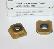 Seex 43afn-m10 F40m Seco 10 Inserts Factory Pack