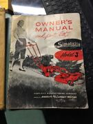 1950s Simplicity Model J Self-propelled Rotary And Reel Mower Manual Parts List