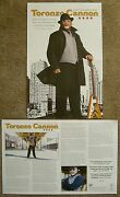 Toronzo Cannon Album Poster The Chicago Way 2-sided 11x17