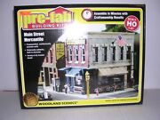 Woodland Scenics Pf5182 Mail Street Mercantile - Building Kit H.o.scale 1/87