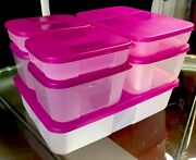 New Vintage 14 Pc Tupperware Freezer Mates Starter Set 7 Containers And 7 Seals