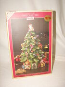 New In Box Spode Christmas Tree With Santa Cookie Jar Great Christmas Gift