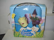 4040 Nrfb Vintage Hornby Flower Fairies Thistle Pixie With Watering Can
