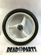 Buell 3 Spoke Front Cast Mag Wheel 17andrdquo Axle