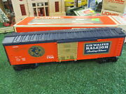 Lionel 7706 Sir Walter Raleigh T0bacco Box Car New In Orig Box Sharp 1977-78