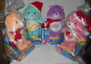 9537 Nrfb Play A Long Target Stores Set Of 4 Singing Holiday Care Bears Plush