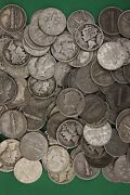 Make Offer 3 Troy Pounds Mercury And Roosevelt Dimes Junk Coins 90 Silver Coins