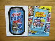 2007 Wacky Packages Ans6 6th Series Quiet Pupsi Promo Card Signed Jay Lynch Art