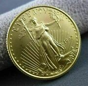 22kt Yellow Gold 10 Dollar 1/4 Ounce United States 1997 Liberty Coin 23420