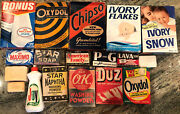 Vintage Collection Of Pandg Boxed Laundry Detergent And Bar Soap
