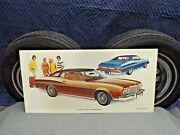 Dealership Promo Poster 1975 Ford Gran Torino Brougham Sign-starsky And Hutch-75