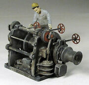 Vertical Cylinder Steam Winch O On30 Model Railroad Scenery Unpainted Kit Fr1725