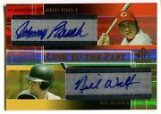 2004 Sp Prospects Johnny Bench Neil Walker Rc Link To The Past Dual Auto /50