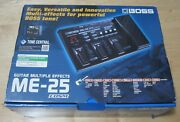 Boss Me-25 Guitar Multi-effects Cosm Pedal
