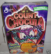 8735 General Mills 2000 Count Chocula Halloween Cereal Box Only