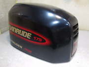 0285114 Engine Cover Evinrude Outboard Ficht Dark Blue Motor Cover 175hp