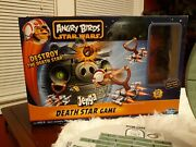 Angry Birds Star Wars Jenga Death Star Game Complete Exclusive Chewie Figure