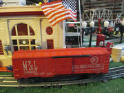 Lionel Post War 6464-525 Minnapolis And St Louis Box Car Vg Orig Cond 1957-58 Nice