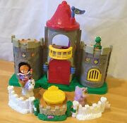 Fisher Price Little People Castle Horse People Gate Sound Movement