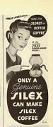 1944 Vintage Ad For Silex`glass Coffee Makerart 120713
