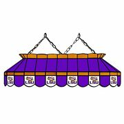 Ncaa Louisiana State Lsu Tigers 40 Stained Glass Pool Table Light - New