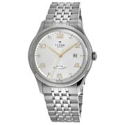 New Tudor 1926 41mm Silver Diamond Dial Stainless Steel Menand039s Watch M91650-0003