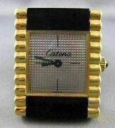 Antique Swiss Catena 18k Yellow Gold Electro Lady Rectangle Watch Working 20999