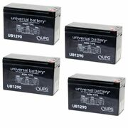 New 4 Pack Upg Ub1290 12v 9ah Battery Replaces Stealth Cam Stc-12bb Battery Box