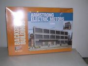 Walthers 3172 Armstrong Electric Motors - Background Building Kit H.o. 1/87