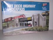 Walthers 3190 Art Deco Highway Underpass - Building Kit H.o.scale 1/87