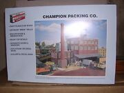 Walthers 3048 Champion Packing Co. - Building Kit H.o.scale 1/87