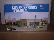 Walthers 2934 Silver Springs Bus Terminal - Building Kit H.o.scale 1/87