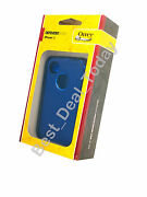 Otterbox Rugged Defender Case W/ Holster For Apple Iphone 4s 4 Ocean Night Blue
