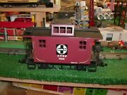 Bachmann Trains G-scale No. 425 A T S F Santa Fe Caboose - Very Nice