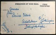 1944 Jamaica Prisoner Of War Womens Internment Camp Cover To Adelberg Germany