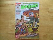 1994 Vintage Mars Attacks Mini 1 With Poster Signed By Keith Giffen,with Poa