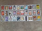 2018 Topps On Demand Wacky Packages Old School 7 30 Sticker Set 318 Made Rare