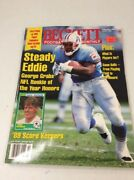 Beckett Football Card Monthly Magazine Price Guide Eddie George February 1997