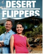 Eric And Lindsey Bennett Signed Autographed Hgtv Desert Flippers Photo