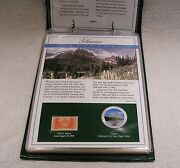 Colorized U.s. Silver Eagle Dollars - America's National Park - Qty 10 One Ounce
