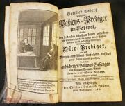 1768 Passion Preaching In The Cabinet By Gottlieb Cober Stamp Anticariat Sibiu