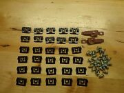 1970 Cuda Challenger Windshield And Rear Window Trim Molding Clips And Sealer Screws