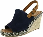 Toms Womenand039s Low-top Sneakers 6 Navy Suede/leather