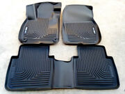 Sale Husky Weatherbeater Front And Rear Back Floor Liners Fits 17-19 Honda Cr-v