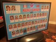 Summit Series 1972 Team Canada And Team Ussr Posters Framed Originals